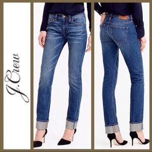 J Crew selvedge matchstick Jeans